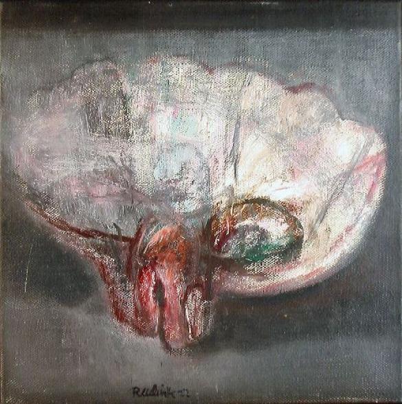 Afbeelding van het kunstwerk 'schelp' van Rinny Reulink