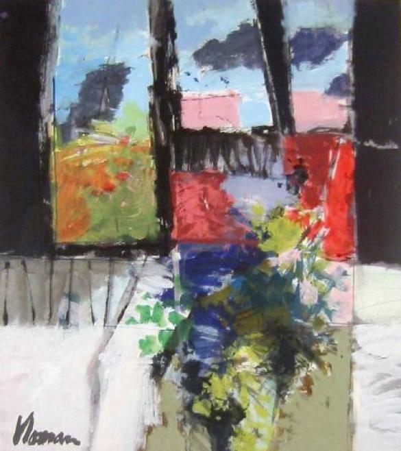 Afbeelding van het kunstwerk 'zonder titel 3' van Jan Homan