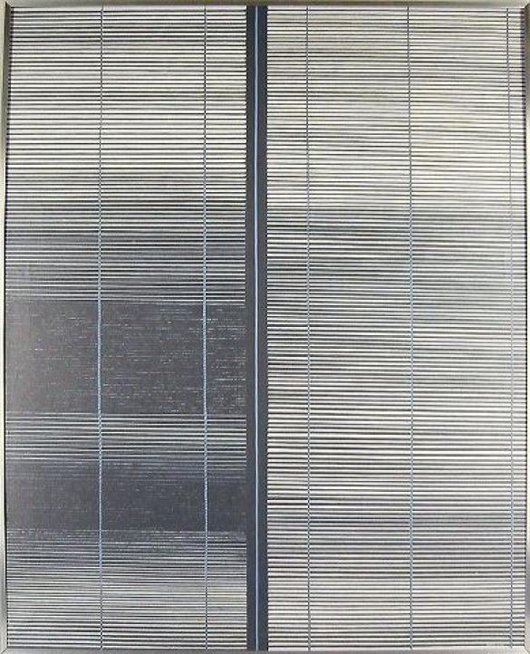 Afbeelding van het kunstwerk 'gesloten raam' van Carmi Butteling