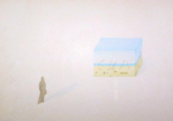 Afbeelding van het kunstwerk 'de laatste reis' van Ronald de Reus
