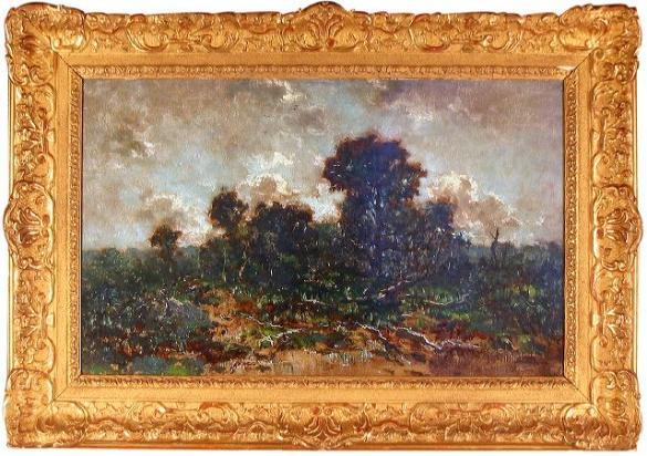 Afbeelding van het kunstwerk 'veluwerand' van Theo Goedvriend