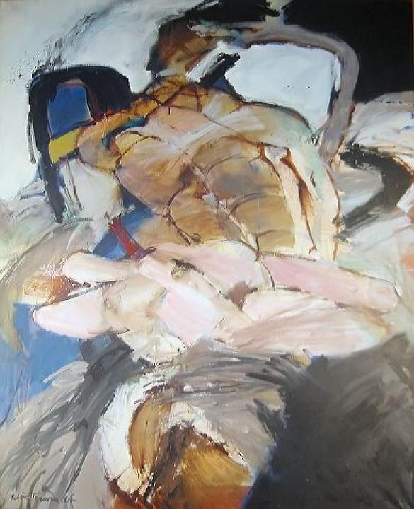 Afbeelding van het kunstwerk 'Katastrofe' van Robert Terwindt