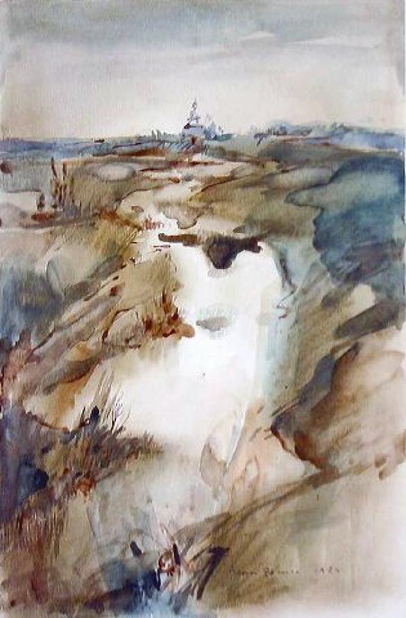 Afbeelding van het kunstwerk 'Suzdal' van Jean Pécasse