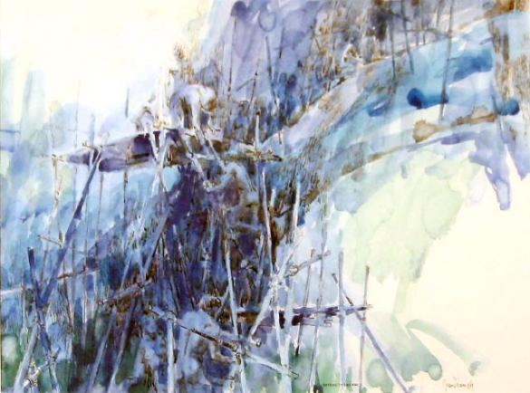 Afbeelding van het kunstwerk 'nothing to declare' van Jean Pécasse