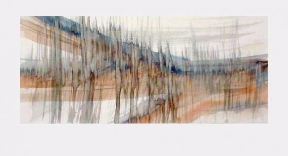 Afbeelding van het kunstwerk 'variaties op een tak' van Hans Kautz