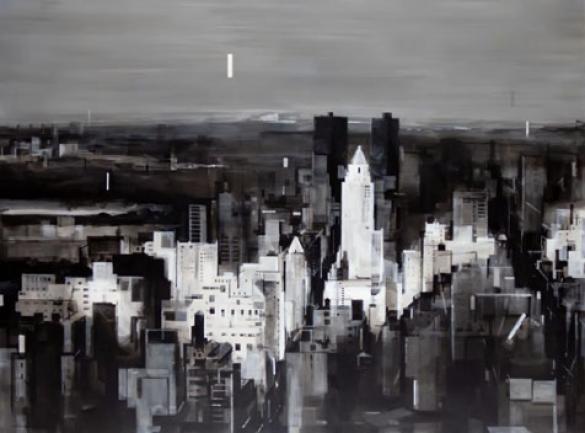 Afbeelding van het kunstwerk 'Black bird's song' van Wessel Huisman