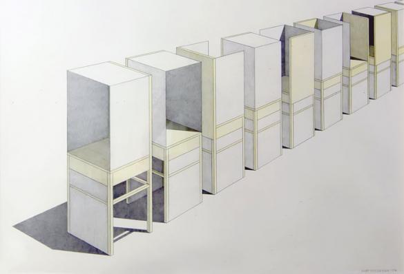 Afbeelding van het kunstwerk 'geen titel' van Jaap Wieseman