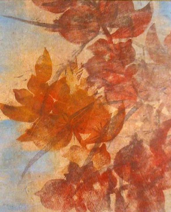 Afbeelding van het kunstwerk 'appelbomen' van Ans Woldringh