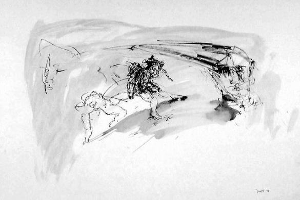 Afbeelding van het kunstwerk 'zonder titel 22' van Jan Vos
