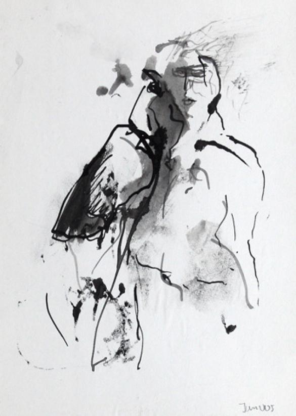 Afbeelding van het kunstwerk 'zonder titel 3' van Jan Vos