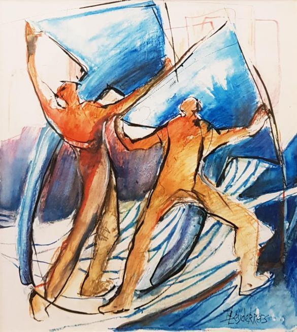 Afbeelding van het kunstwerk 'Geen titel' van Leydekkers