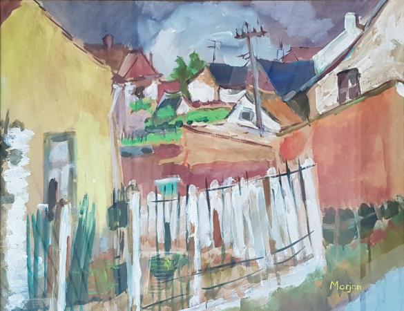 Afbeelding van het kunstwerk 'Zonder titel' van Marjon de Wit