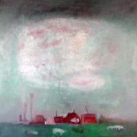 Afbeelding van het kunstwerk 'groene aarde' van Rinny Reulink