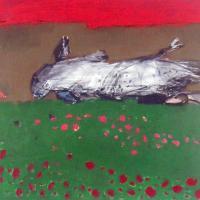 Afbeelding van het kunstwerk 'dode vogel' van Jan Homan