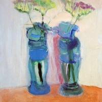 Afbeelding van het kunstwerk 'zonder titel' van Henny Wieseman-Verhagen