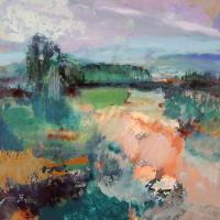 Afbeelding van het kunstwerk 'Zuid-Provence' van Marjon de Wit