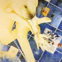 Afbeelding van het kunstwerk 'out of the blue' van Frans Brouwers