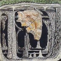 Afbeelding van het kunstwerk 'gehakkelde aurelia' van Sjef van der Molen