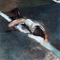 Afbeelding van het kunstwerk 'Versteend oponthoud' van Annelies van de Akker