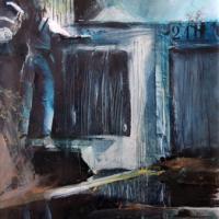 Afbeelding van het kunstwerk 'Versteend oponthoud 1' van Annelies van de Akker