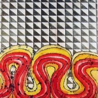 Afbeelding van het kunstwerk 'geen titel 2' van Kees Rademaker