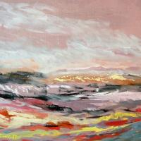 Afbeelding van het kunstwerk 'rivierlandschap' van Adriaan van Esveld
