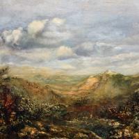 Afbeelding van het kunstwerk 'landschap' van Hans Pieters
