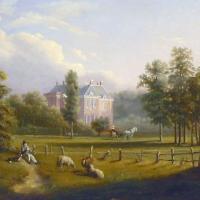 Afbeelding van het kunstwerk 'kasteel Middachten' van Onbekend