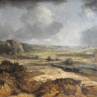 Afbeelding van het kunstwerk 'Loswal aan de IJssel' van Theo Goedvriend