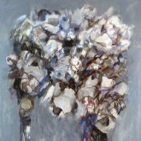 Afbeelding van het kunstwerk 'bloeiende tafel' van Gradus Verhaaf