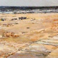 Afbeelding van het kunstwerk '77 strand' van Jan Miechels