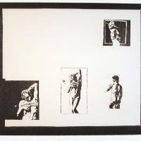 Afbeelding van het kunstwerk 'Michelangelo bandages' van Marten Hendriks