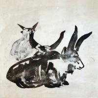 Afbeelding van het kunstwerk 'zonder titel' van Bernard Laméris