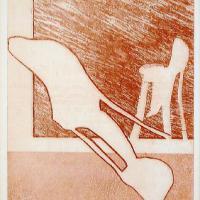 Afbeelding van het kunstwerk 'stoel 1' van Bernard Laméris