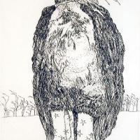 Afbeelding van het kunstwerk 'wachten' van Lilly Dresden