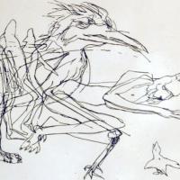 Afbeelding van het kunstwerk 'Tafereel' van Lilly Dresden