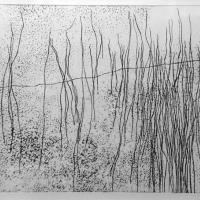 Afbeelding van het kunstwerk 'Landschap 2' van Lilly Dresden