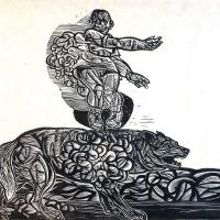 Afbeelding van het kunstwerk 'oktober 1984 nr.1' van Peter Bata
