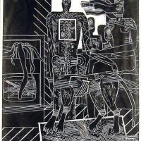 Afbeelding van het kunstwerk 'Sury A' van Peter Bata