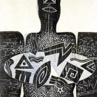Afbeelding van het kunstwerk 'zonder titel' van Peter Bata