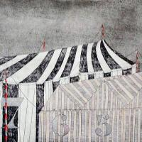 Afbeelding van het kunstwerk 'circustenten' van F.A. van der Horst