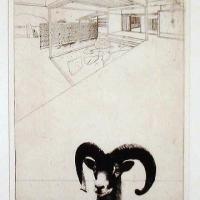 Afbeelding van het kunstwerk 'relatie / links' van Walter Lentjes