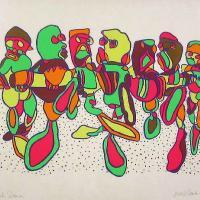 Afbeelding van het kunstwerk 'Bulk Dansa' van E. Van de Velde
