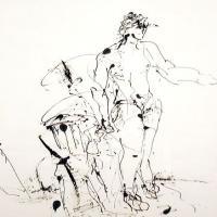 Afbeelding van het kunstwerk 'zonder titel' van Jan Vos