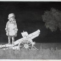Afbeelding van het kunstwerk 'Ich bin unschuldig' van Ton Plettenberg