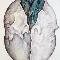 Afbeelding van het kunstwerk 'vrucht II' van Ab Steenvoorden
