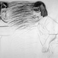 Afbeelding van het kunstwerk 'twee vrienden' van Jos Klaver
