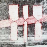 Afbeelding van het kunstwerk 'zonder titel' van R.A. Mervel