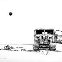 Afbeelding van het kunstwerk 'monstrum in verval' van Enno Brokke