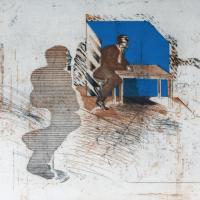 Afbeelding van het kunstwerk 'Het uur van de Wolf' van Peter Bes